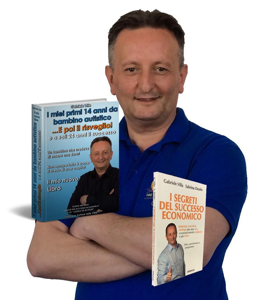 I miei primi 14 anni da bambino autistico e poi il risveglio e a soli 24 anni il successo il nuovo libro di Lele VIlla