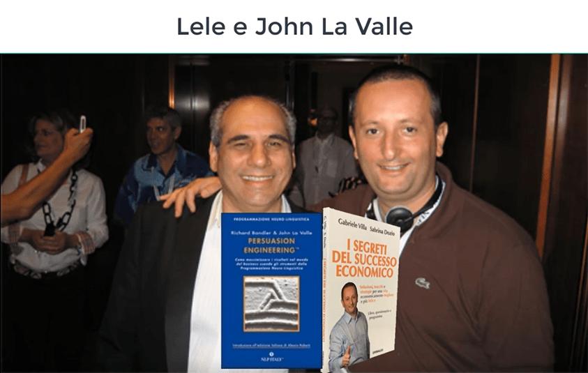 Lele Villa e Jhon La valle
