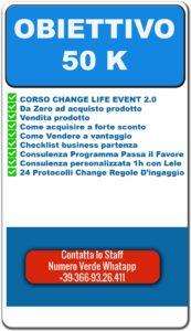 CORSO CHANGE LIFE EVENT 2.0